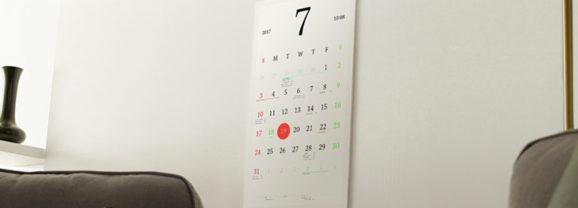 Magic Calendar, um calendário de parede e-ink que sincroniza com sua conta do Google!
