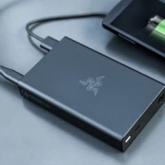 Razer Power Bank de 12.800mAh carrega a bateria de smartphones, tablets e até notebooks