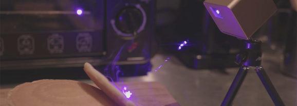 Cubiio, um marcador laser portátil para personalizar seus objetos