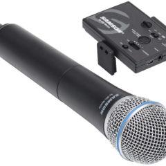 Microfone sem fio da Samson para smartphones iOS ou Android