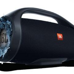 JBL Boombox, uma caixa de som Bluetooth com uma bateria que dura até 24 horas!
