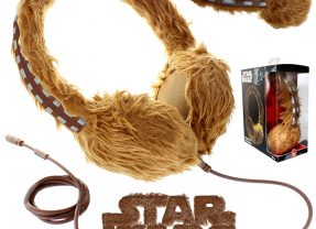 Fones de Ouvido Chewbacca Co-Pilot Cans Star Wars Headphones