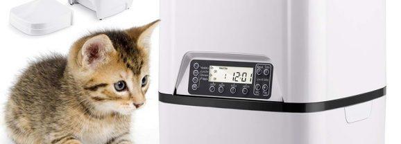 Alimentador Automático Cat Feeder para Gatos
