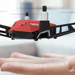 Dr. X da ThiEye: tem cara de bravo, mas é um mini-drone bem barato pra iniciantes