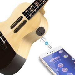 Populele, o ukulele com Bluetooth e luzes LED que te ensina a tocar