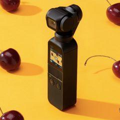 Osmo Pocket, a câmera compacta com gimbal da DJI