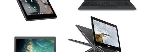 Asus apresenta tablet com Chrome OS e Chromebooks antes da CES 2019