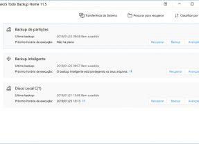 EaseUS ToDo Backup Home para Windows é simples e versátil