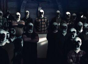 Primeiro teaser de Watchmen nos mostra o culto de Rorschach