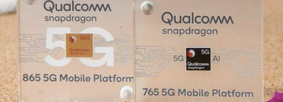 Snapdragon 865 não tem conectividade 5G integrada, só no modem externo
