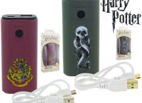 Hogwarts e Death Eater Power Banks – Baterias externas temáticas da saga Harry potter