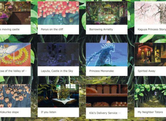 Wallpapers Gratuitos do Studio Ghibli para Vídeo Conferências em Tempos de Quarentena