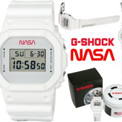 "Relógio Casio G-SHOCK NASA ""All Systems Go"""