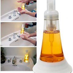Lumo Soap Saboneteira com LED que indica o tempo recomendado para lavar as mãos contra o COVID-19