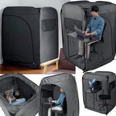 Cabana de Privacidade para Trabalhar em Casa nos Tempos de Quarentena