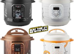 Panelas Elétricas Star Wars Instant Pot no Dia de Star Wars (May the 4th be with You!)