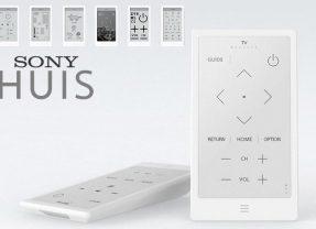 Controle Remoto Universal Sony Huis E-Paper com Tela E-Ink