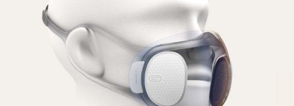 Máscara transparente autolimpante da Huami pode ser usada com o Touch ID