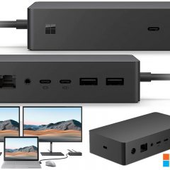 Microsoft Surface Dock 2 Transforma o Tablet em Desktop