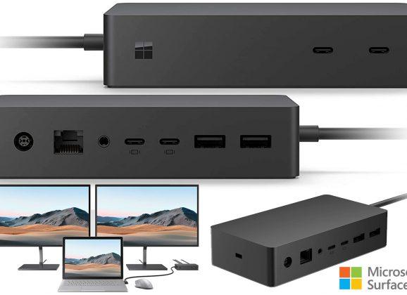 Microsoft Surface Dock 2 Transforma o Tablet em Desktop