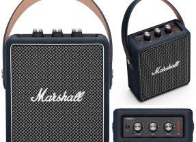 Marshall Stockwell II Caixa de Som Portátil com Bluetooth 5.0