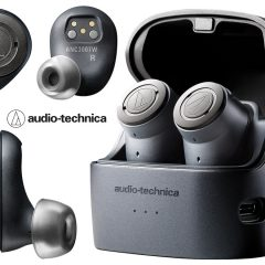 Fones de Ouvido Audio-Technica QuietPoint ATH-ANC300TW Wireless Active Noise-Cancelling In-Ear Headphones