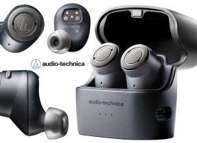 Fones de Ouvido Audio-Technica QuietPoint ATH-ANC300TW Wireless Active Noise-Cancelling In-Ear Headphones