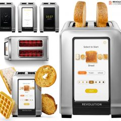 Torradeira Inteligente RevCook R180 com Tela Touchscreen Colorida
