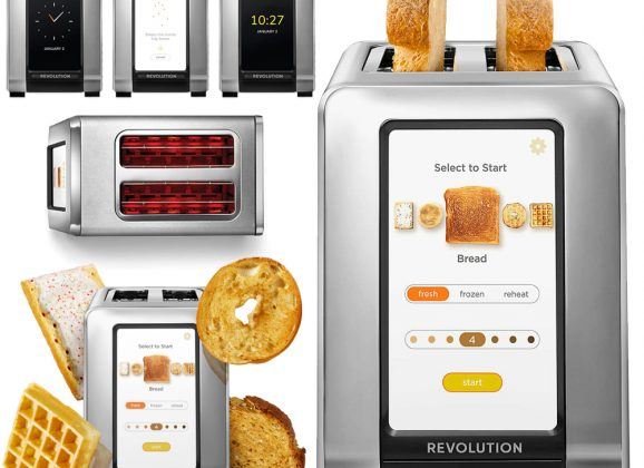 Torradeira Inteligente RevCook R180 com Tela Touchscreen Colorida