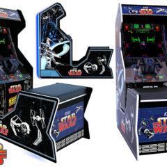 Máquina Arcade Star Wars com 3 Videogames Clássicos da Atari