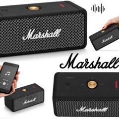 Mini Caixa de Som Marshall Emberton com Som Multidirecional 360°