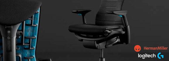 """Cadeira Ergométrica """"Embody Gaming Chair"""" da Herman Miller  e Logitech Custa mais de 10 Mil Reais!"""