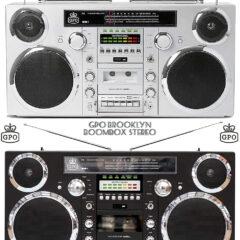Boombox GPO Brooklyn – Anos 80 com Tecnologia do Século 21