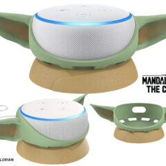 Base Baby Yoda para Amazon Echo Dot (Star Wars: The Mandalorian)