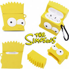 Estojo para AirPods Bart Simpson da Série Animada Os Simpsons