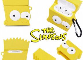 Estojo para AirPods Bart Simpson da Série Animada Os Simpsons
