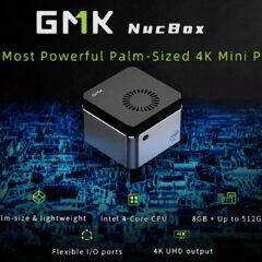 GMK NucBox 4K, o Mini PC que Cabe na Palma da Mão
