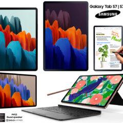 Os Poderosos Tablets Galaxy Tab S7 e Tab S7+ da Samsung
