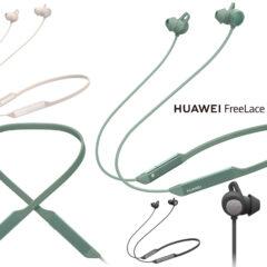 Fones de Ouvido Bluetooth Huawei FreeLace Pro com Cancelamento de Ruídos