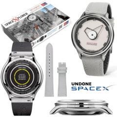 Relógio de Pulso SpaceXplorer Watch em Homenagem a SpaceX Dragon V2