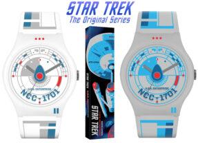 Relógios de Pulso Vannen Star Trek USS Enterprise com Arte de Tom Whalen