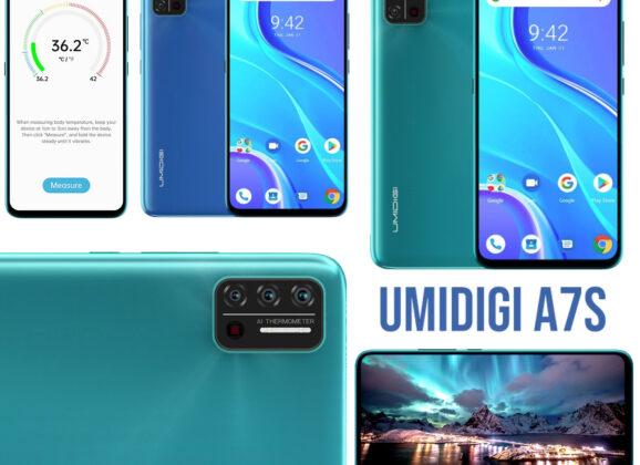 Umidigi A7S, o Smartphone que Mede a Temperatura Corporal a Distância