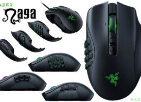 Mouse Razer Naga Pro com 20 Botões Programáveis