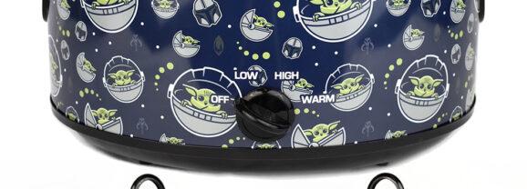 Panela Elétrica Baby Yoda Star Wars: The Mandalorian