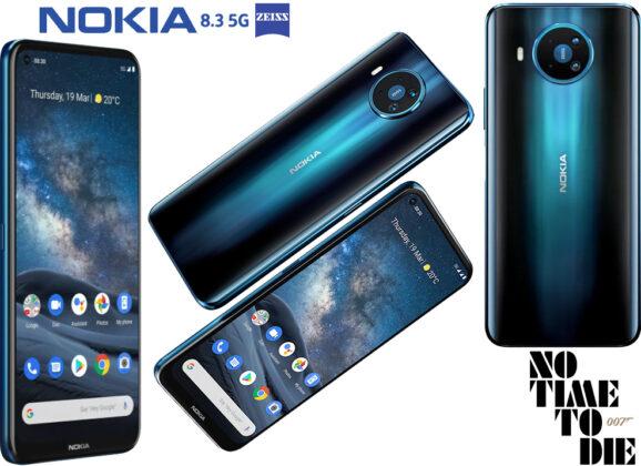 Nokia 8.3 5G, o Smartphone do Novo Filme James Bond 007 – Sem Tempo Para Morrer