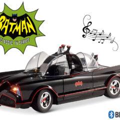 Caixa de Som Batmóvel Bluetooth da Clássica Série Batman de 1966