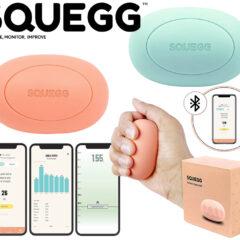 SQUEGG Digital Stress Ball, o Primeiro Brinquedo Anti-Stress com Bluetooth do Mundo!