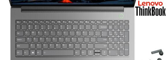 Lenovo ThinkBook 15 Gen 2, o Primeiro Laptop do Mundo com Fones de Ouvido TWS