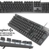 Logitech K845 Keyboard – Teclado Mecânico Iluminado Projetado para Horas de Digitação Confortável