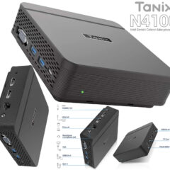 Mini-PC Tanix N4100 com Windows 10 Pro